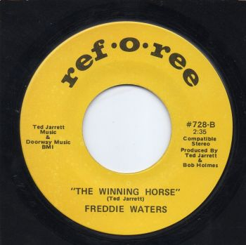 FREDDIE WATERS - THE WINNING HORSE