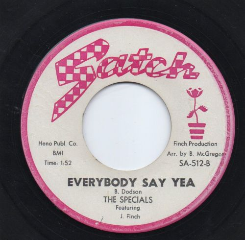 THE SPECIALS - EVERYBODY SAY YEA