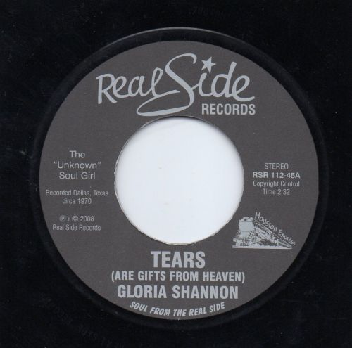 GLORIA SHANNON - TEARS (ARE GIFTS FROM HEAVEN)