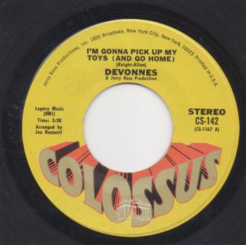 DEVONNES - I'M GONNA PICK UP MY TOYS (AND GO HOME)