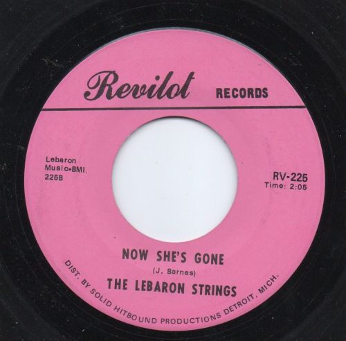 THE LEBARON STRINGS - NOW SHE'S GONE (INSTRUMENTAL)