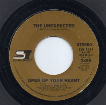 THE UNEXPECTED - OPEN UP YOUR HEART