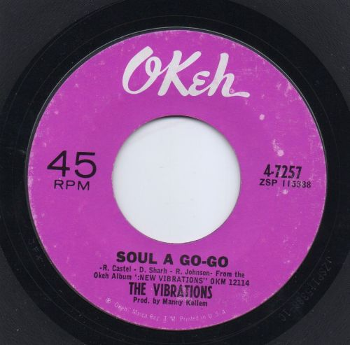 THE VIBRATIONS - SOUL A GO-GO