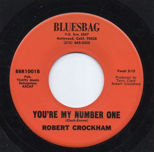 ROBERT CROCKHAM - YOU'RE MY NUMBER ONE