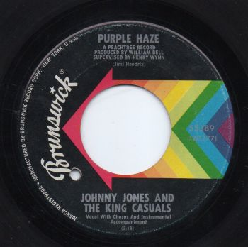 JOHNNY JONES & THE KING CASUALS - PURPLE HAZE