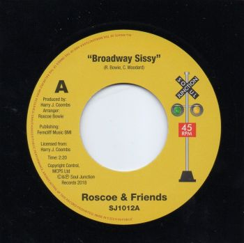ROSCOE & FRIENDS - BROADWAY SISSY