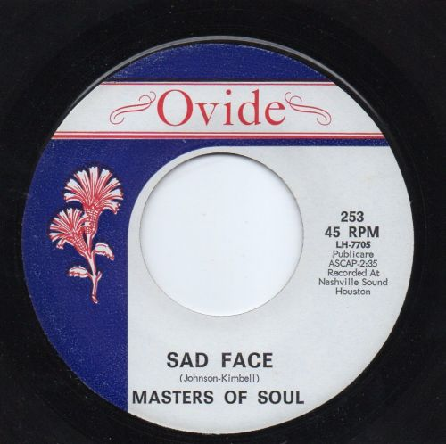 MASTERS OF SOUL - SAD FACE