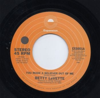 BETTY LAVETTE - YOU MADE A BELIEVER OUT OF ME