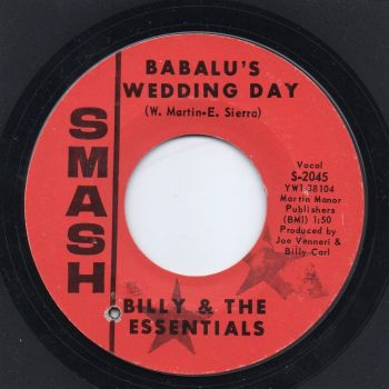 BILLY & THE ESSENTIALS - BABALU'S WEDDING DAY