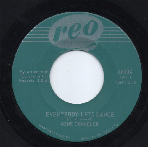 GENE CHANDLER - EVERYBODY LET'S DANCE