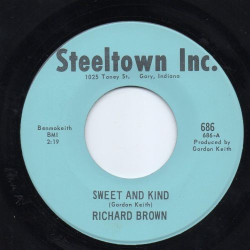 RICHARD BROWN - SWEET & KIND