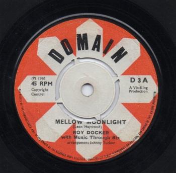 ROY DOCKER with MUSIC THROUGH SIX - MELLOW MOONLIGHT