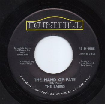 THE BABIES - THE HAND OF FATE