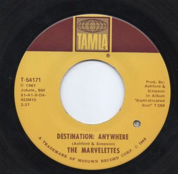 THE MARVELETTES - DESTINATION: ANYWHERE
