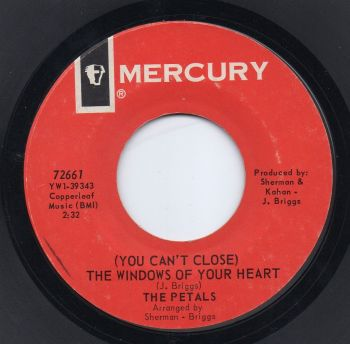 THE PETALS - (YOU CAN'T CLOSE) THE WINDOWS OF YOUR HEART