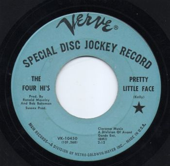 THE FOUR HI'S - PRETTY LITTLE FACE