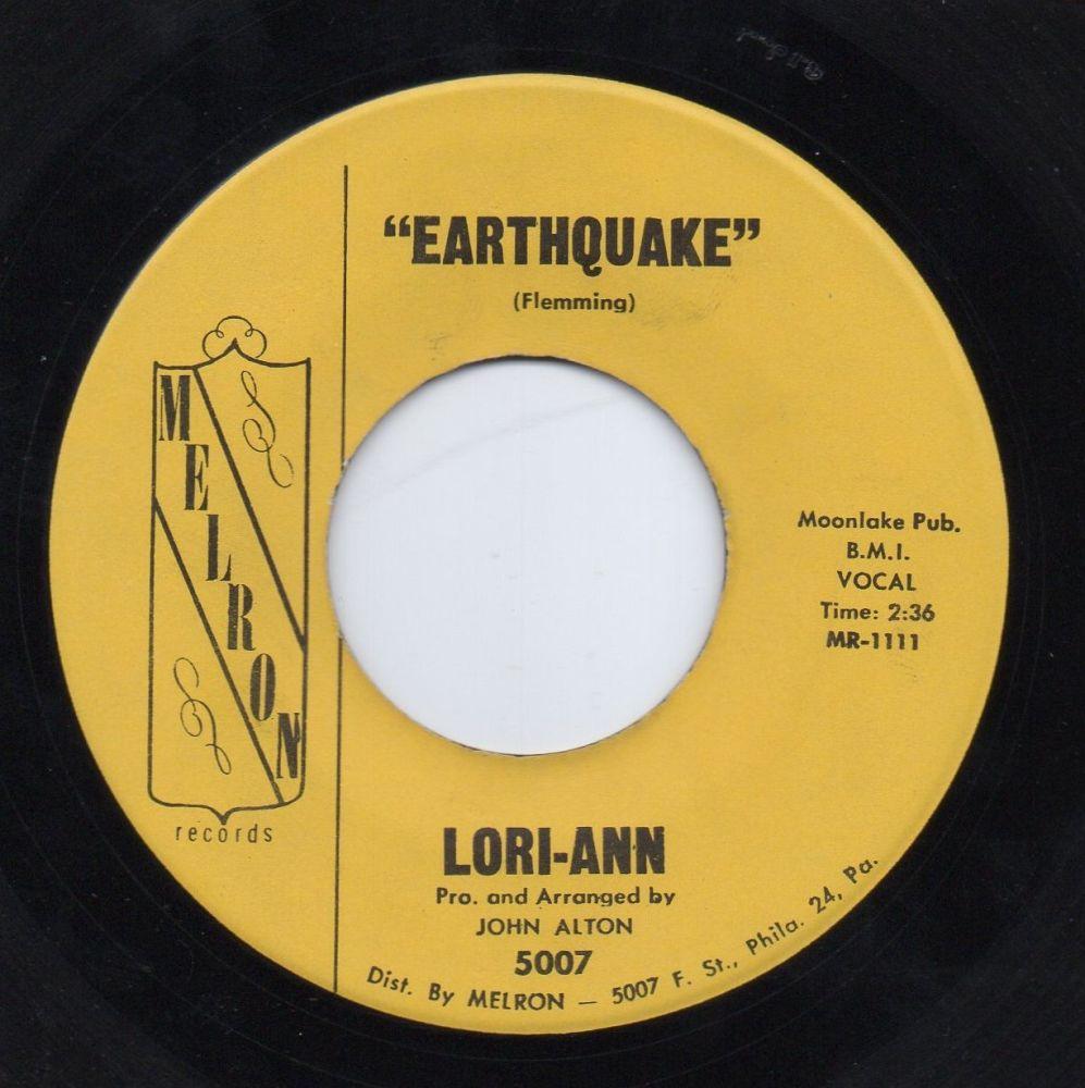 LORI-ANN - EARTHQUAKE