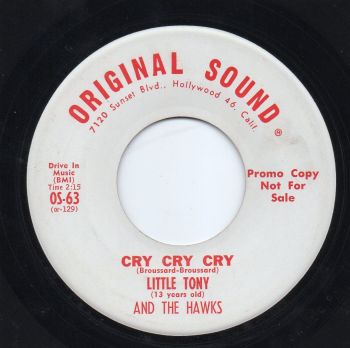 LITTLE TONY AND THE HAWKS - CRY CRY CRY