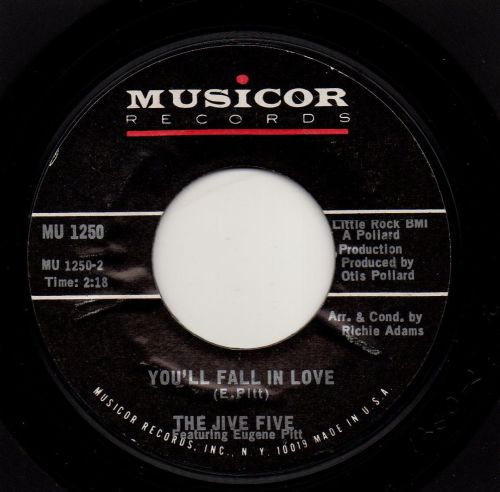 THE JIVE FIVE - YOU'LL FALL IN LOVE