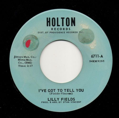 LILLY FIELDS - I'VE GOT TO TELL YOU