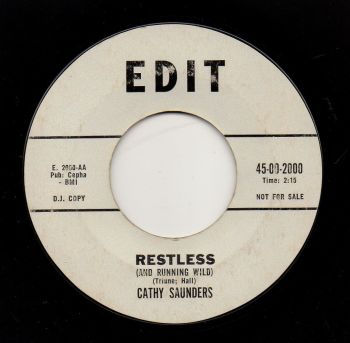 CATHY SAUNDERS - RESTLESS (AND RUNNING WILD)