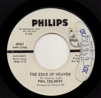 PHIL COLBERT - THE EDGE OF HEAVEN