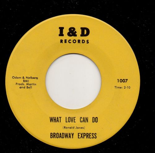 BROADWAY EXPRESS - WHAT LOVE CAN DO