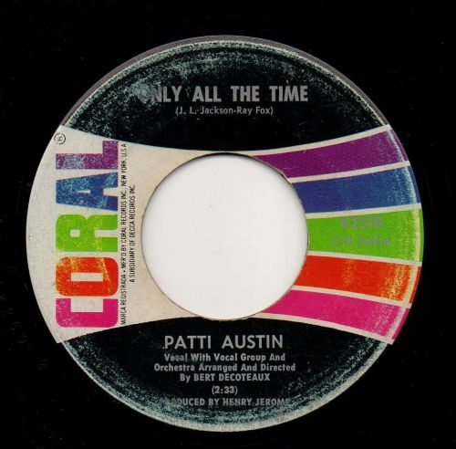 PATTI AUSTIN - ONLY ALL THE TIME