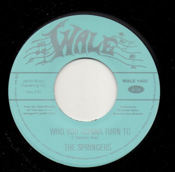 THE SPRINGERS - WHO YOU GONNA TURN TO