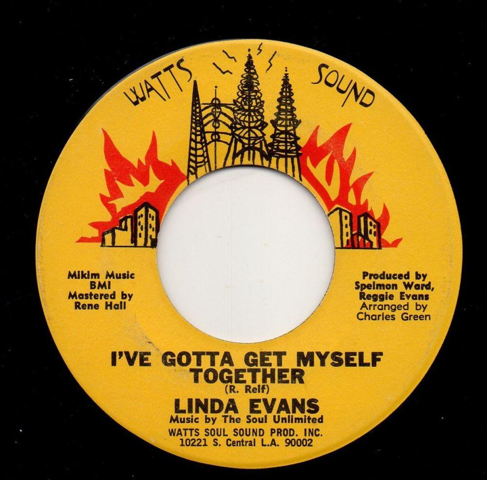 LINDA EVANS - I'VE GOTTA GET MYSELF TOGETHER