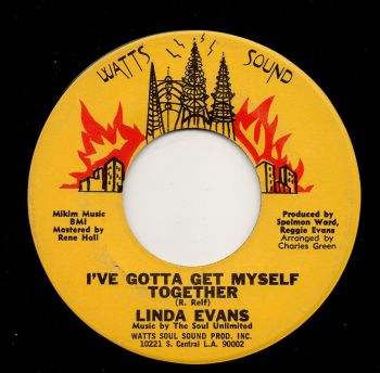 LINDA EVANS - I'VE GOTTA GET MYSELF TOGETHER