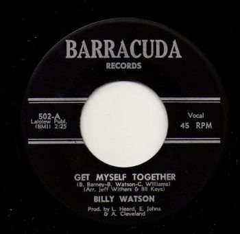 BILLY WATSON - GET MYSELF TOGETHER