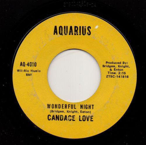 CANDACE LOVE - WONDERFUL NIGHT