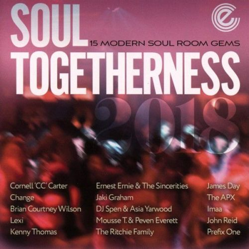 VARIOUS - SOUL TOGETHERNESS 2018 (cd)
