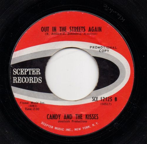 CANDY AND THE KISSES - OUT IN THE STREETS AGAIN