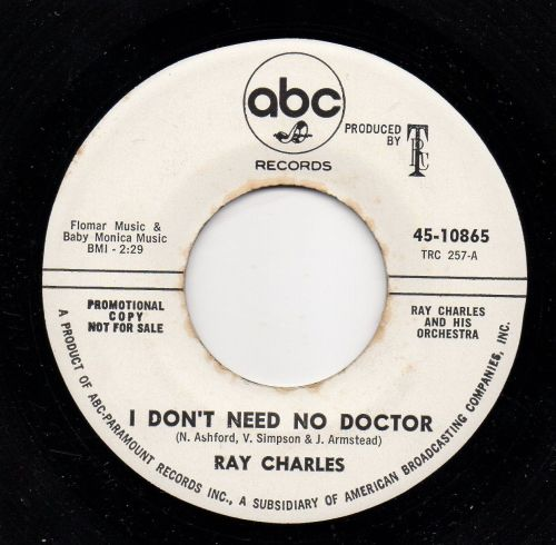 RAY CHARLES - I DON'T NEED NO DOCTOR