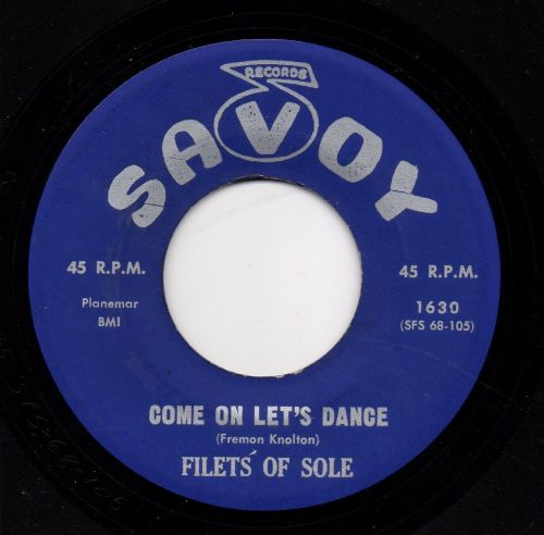 FILETS OF SOLE - COME ON LET'S DANCE