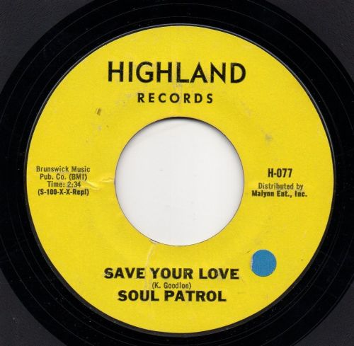 SOUL PATROL - SAVE YOUR LOVE