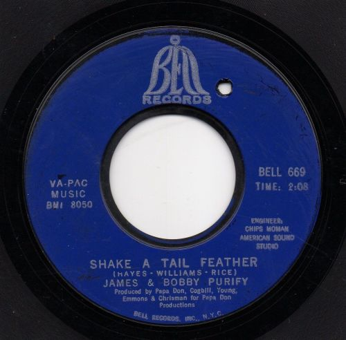 JAMES & BOBBY PURIFY - SHAKE A TAIL FEATHER