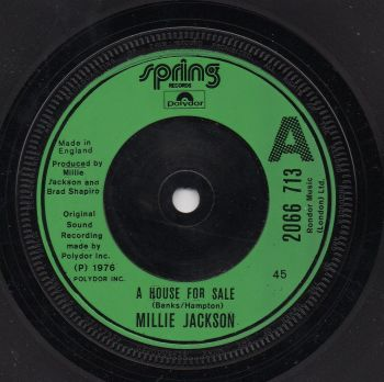 MILLIE JACKSON - A HOUSE FOR SALE