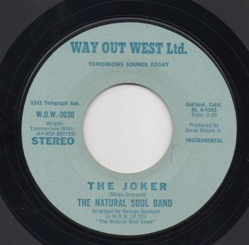 THE NATURAL SOUL BAND - THE JOKER