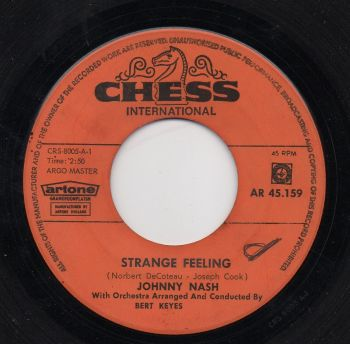 JOHNNY NASH - STRANGE FEELING