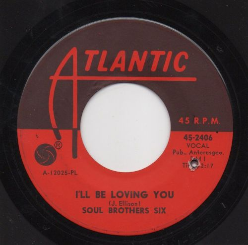 SOUL BROTHERS SIX - I'LL BE LOVING YOU