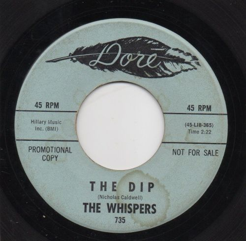 THE WHISPERS - THE DIP