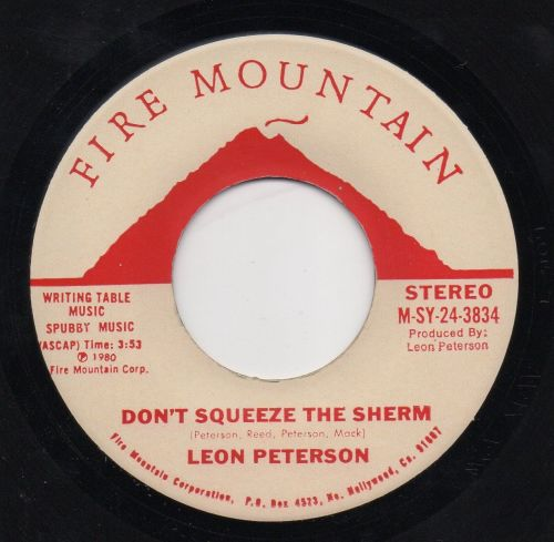 LEON PETERSON - DON'T SQUEEZE THE SHERM