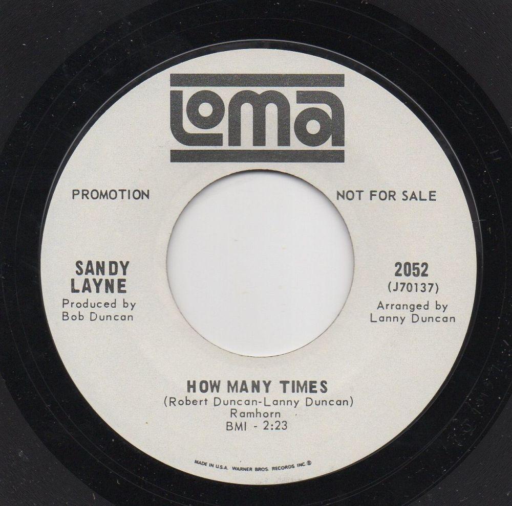 SANDY LAYNE - HOW MANY TIMES