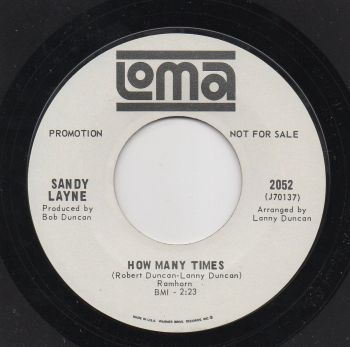 SANDY LAYNE - HOW MANY TIMES