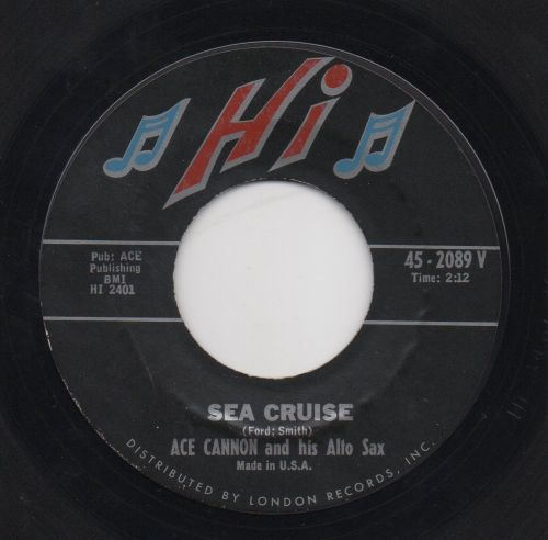 ACE CANNON and his ALTO SAX - SEA CRUISE