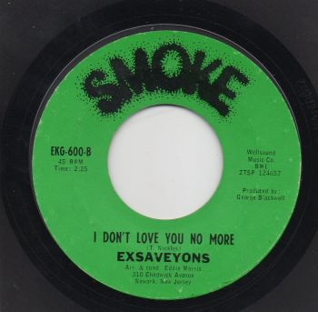 EXSAVEYONS - I DON'T LOVE YOU NO MORE