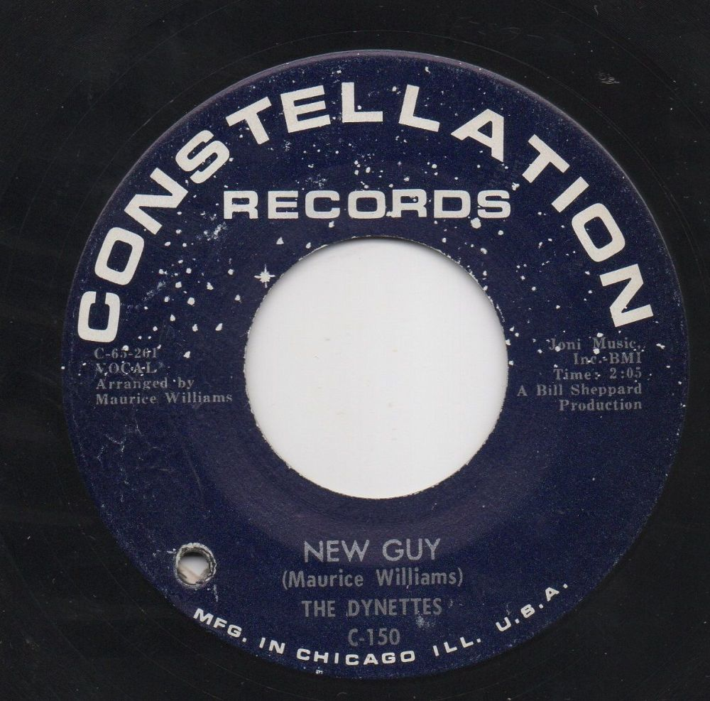 THE DYNETTES - NEW GUY
